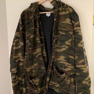 Obey Men's Camo Jacket, size L